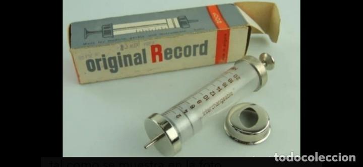 JERINGUILLA HIPODERMICA EN CAJA ORIGINAL (Antigüedades - Técnicas - Herramientas Profesionales - Medicina)