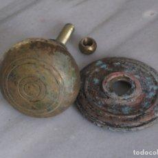 Antigüedades: ANTIGUO POMO DE BRONCE. 350GR.. Lote 182113256