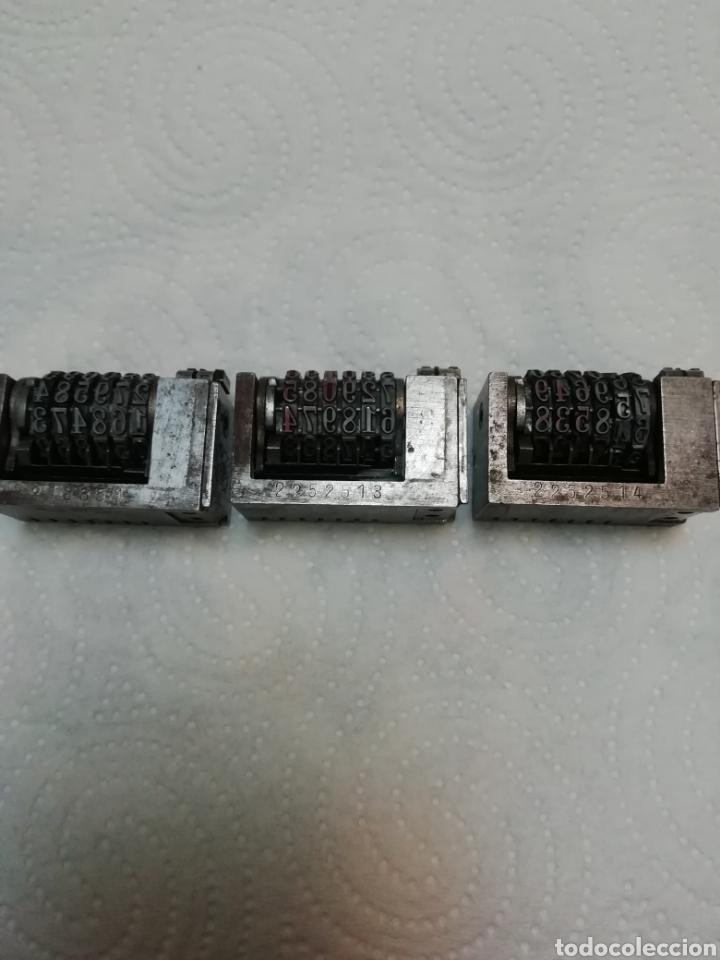Antigüedades: Numeradores tipográfico - Foto 5 - 182129483