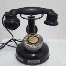Teléfonos: TELÉFONO ANTIGUO DE BAQUELITA.. Lote 182151665