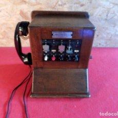 Teléfonos: CENTRALITA TELEFÓNICA CON MAGNETO. Lote 182184226