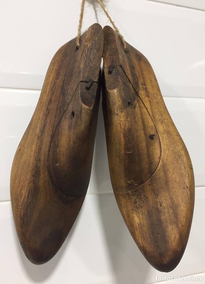 Antigüedades: ANTIGUAS HORMAS DE ZAPATOS EN MADERA MACIZA - Foto 4 - 182231083