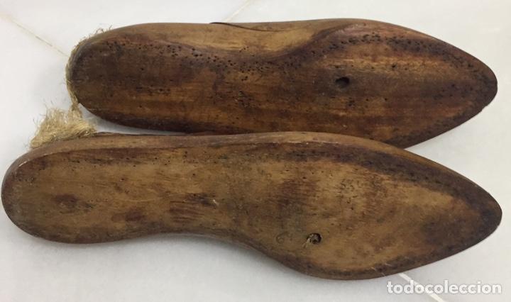 Antigüedades: ANTIGUAS HORMAS DE ZAPATOS EN MADERA MACIZA - Foto 11 - 182231083