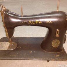 Antigüedades: MAQUINA DE COSER ALFA ANTIGUA. Lote 182248202