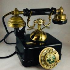 Teléfonos: ANTIGUO TELÉFONO ESPAÑOL, ESTILO NEGRO, DE ELASA PARA LA CTNE, ACTUAL TELEFÓNICA MOVISTAR.. Lote 182263018