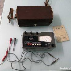 Antigüedades: NORMA ISOLATIONSMESSER. LISTEN-NR. 667 001. CIRCA 1955. MADE IN AUSTRIA. MIDE AISLAMIENTO ELECTRICO. Lote 182265692