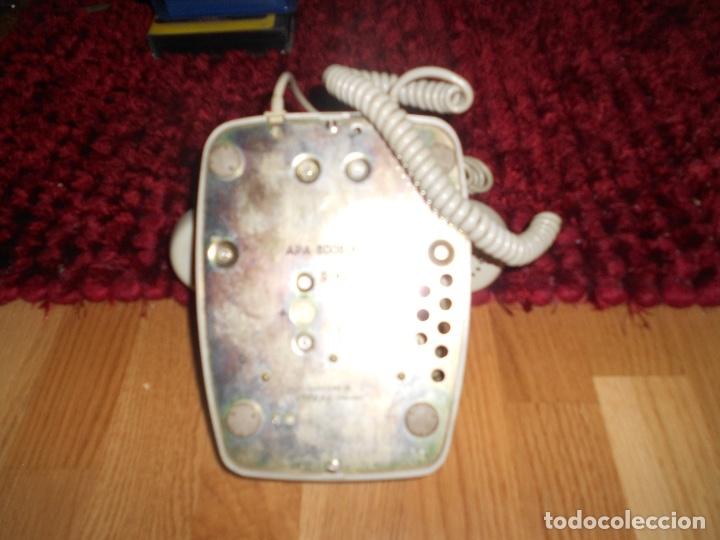 Teléfonos: Teléfono de rueda antiguo COLOR GRIS - vintage - modelo heraldo - CTNE BUEN ESTADO - Foto 4 - 182276863