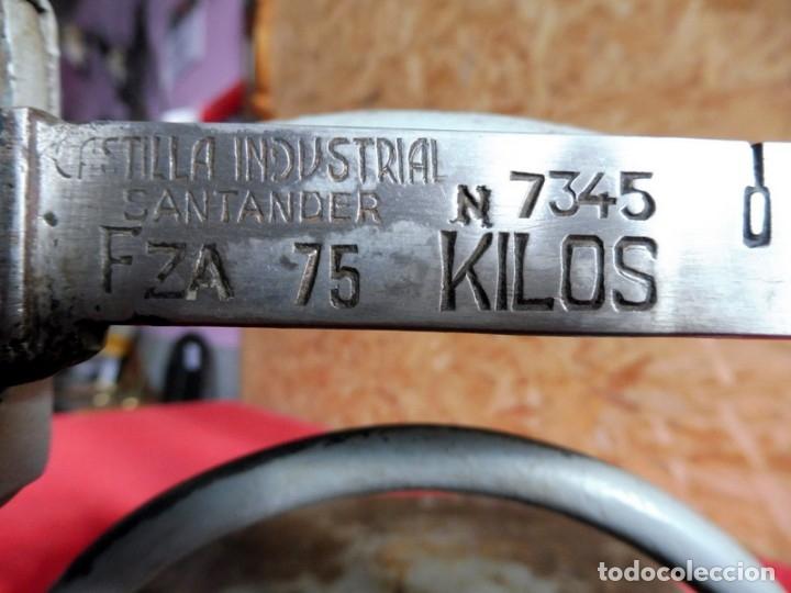 Antigüedades: ANTIGUA BÁSCULA - 75 KG - Foto 9 - 182284811