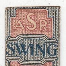 Antigüedades: ANTIGUA HOJA AFEITAR SWING SWEDEN. Lote 182307478