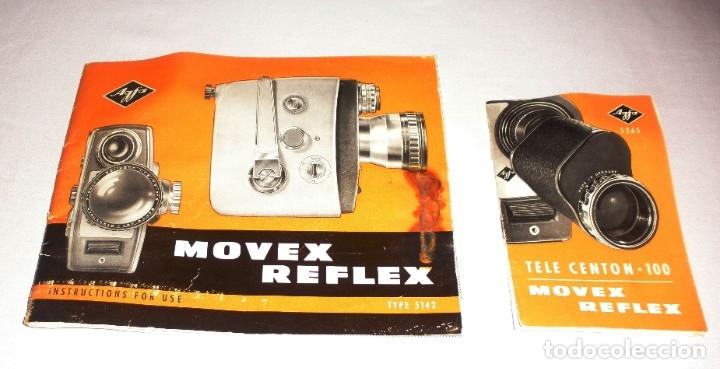 Antigüedades: TOMAVISTAS AGFA MOVEX REFLEX mod 5142 VINTAGE 1963 - Foto 6 - 182322007