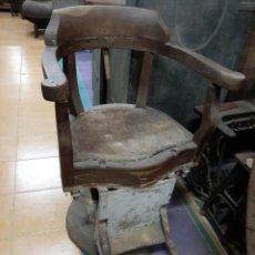 Antigüedades: SILLON BARBERO SIGLO XIX. Lote 182392346