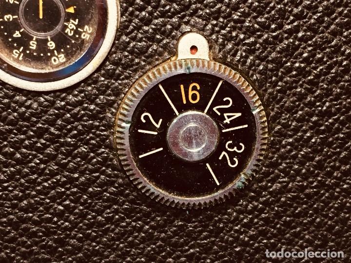 Antigüedades: CAMARA DE CINE A CUERDA CINEMAX 8 EE con FUNDA - Foto 4 - 182399733
