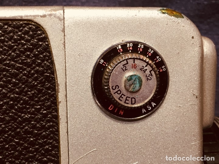 Antigüedades: CAMARA DE CINE A CUERDA CINEMAX 8 EE con FUNDA - Foto 5 - 182399733