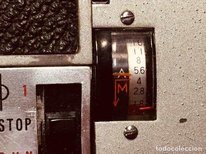 Antigüedades: CAMARA DE CINE A CUERDA CINEMAX 8 EE con FUNDA - Foto 10 - 182399733