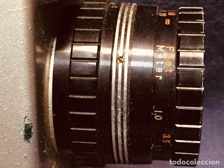 Antigüedades: CAMARA DE CINE A CUERDA CINEMAX 8 EE con FUNDA - Foto 11 - 182399733