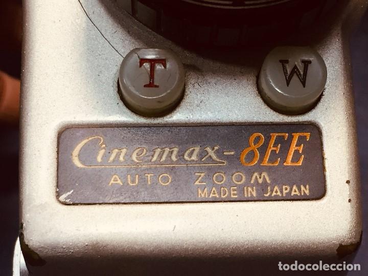 Antigüedades: CAMARA DE CINE A CUERDA CINEMAX 8 EE con FUNDA - Foto 13 - 182399733