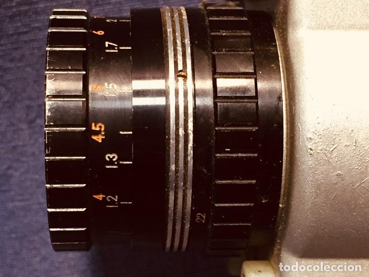 Antigüedades: CAMARA DE CINE A CUERDA CINEMAX 8 EE con FUNDA - Foto 15 - 182399733