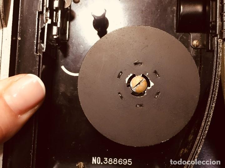 Antigüedades: CAMARA DE CINE A CUERDA CINEMAX 8 EE con FUNDA - Foto 21 - 182399733