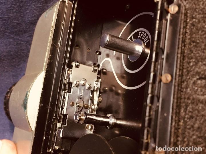 Antigüedades: CAMARA DE CINE A CUERDA CINEMAX 8 EE con FUNDA - Foto 24 - 182399733