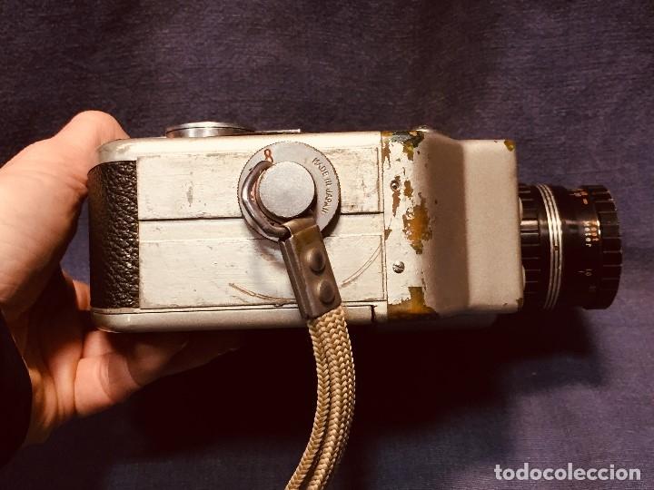 Antigüedades: CAMARA DE CINE A CUERDA CINEMAX 8 EE con FUNDA - Foto 29 - 182399733