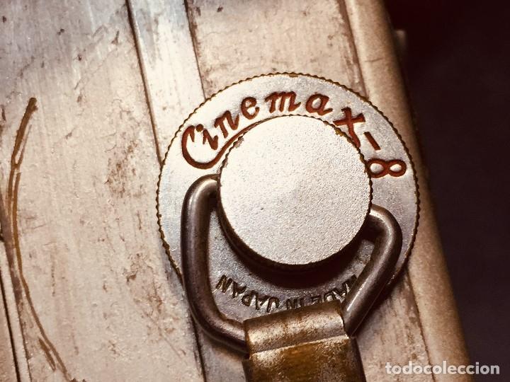 Antigüedades: CAMARA DE CINE A CUERDA CINEMAX 8 EE con FUNDA - Foto 32 - 182399733