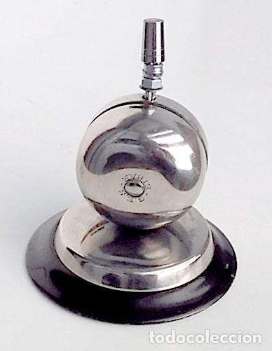 TIMBRE DE HOTEL O DE ESCUELA (Antigüedades - Técnicas - Cerrajería y Forja - Llamadores Antiguos)