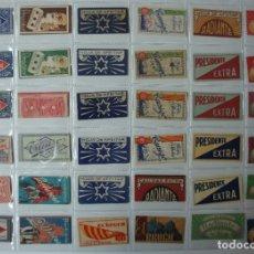 Antigüedades: LOTE DE 36 SOBRES DE HOJAS DE AFEITAR .. Lote 182465700