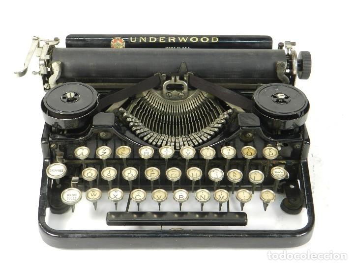 MAQUINA DE ESCRIBIR UNDERWOOD 3B AÑO 1920 TYPEWRITER SCRHEIBMASCHINE (Antigüedades - Técnicas - Máquinas de Escribir Antiguas - Otras)