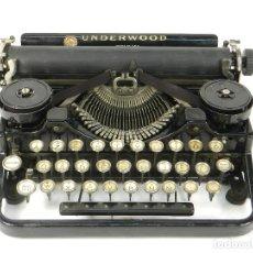 Antigüedades: MAQUINA DE ESCRIBIR UNDERWOOD 3B AÑO 1920 TYPEWRITER SCRHEIBMASCHINE. Lote 182477318
