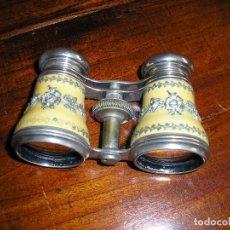 Antigüedades: BINOCULARES DE TEATRO, POSIBLEMENTE FINALES DEL XIX 10,5 X 6,5 CM. Lote 182478036