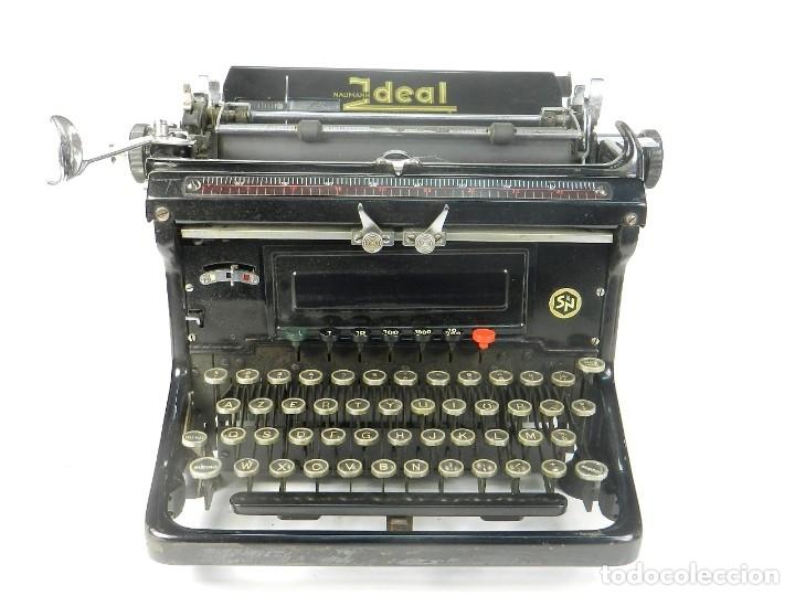 MAQUINA DE ESCRIBIR IDEAL AÑO 1928 TYPEWRITER SCHREIBMASCHINE (Antigüedades - Técnicas - Máquinas de Escribir Antiguas - Otras)