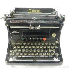 Antigüedades: MAQUINA DE ESCRIBIR IDEAL AÑO 1928 TYPEWRITER SCHREIBMASCHINE. Lote 182503850