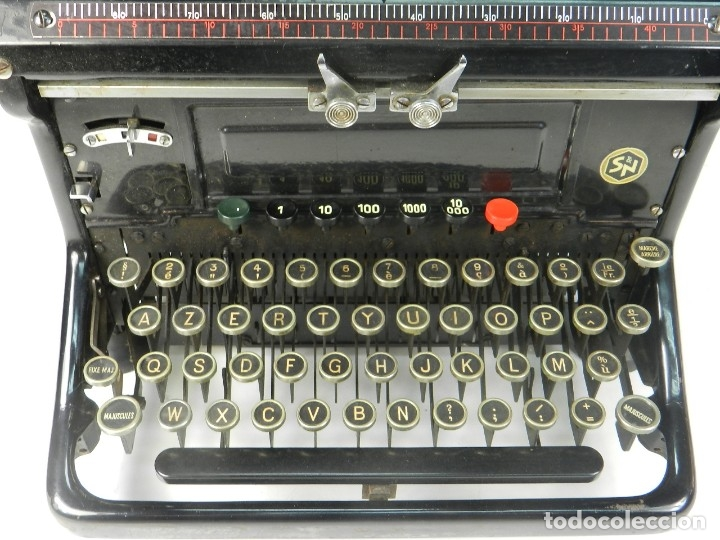 Antigüedades: MAQUINA DE ESCRIBIR IDEAL AÑO 1928 TYPEWRITER SCHREIBMASCHINE - Foto 2 - 182503850