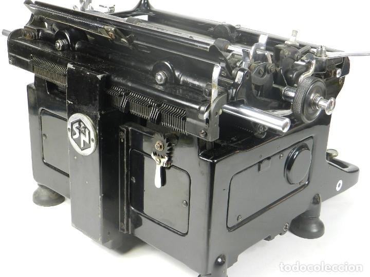 Antigüedades: MAQUINA DE ESCRIBIR IDEAL AÑO 1928 TYPEWRITER SCHREIBMASCHINE - Foto 8 - 182503850