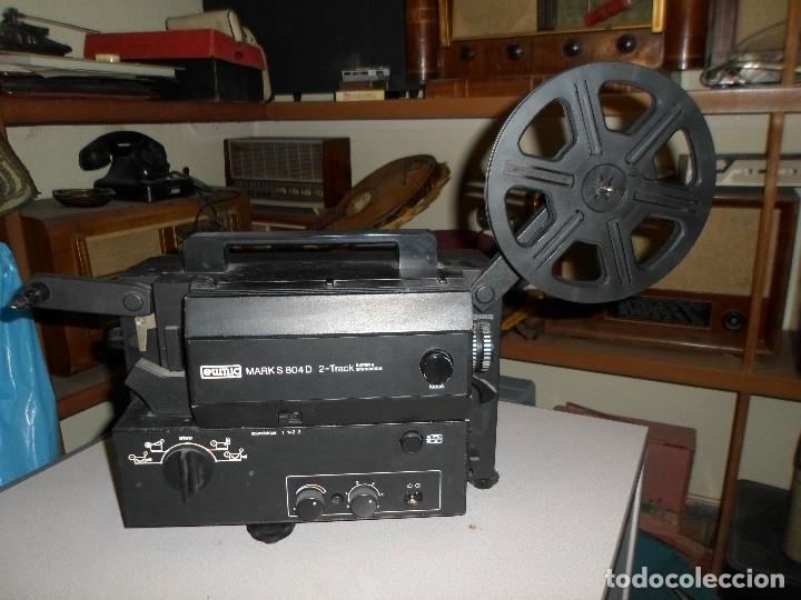 PROYECTOR DE CINE SONORO EUMIG 8 MARK S804 D (Antigüedades - Técnicas - Aparatos de Cine Antiguo - Proyectores Antiguos)