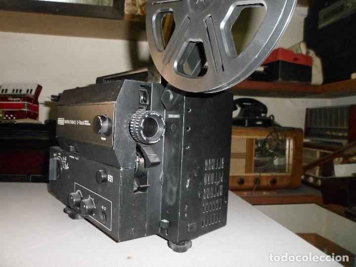 Antigüedades: PROYECTOR DE CINE SONORO EUMIG 8 MARK S804 D - Foto 2 - 182507833