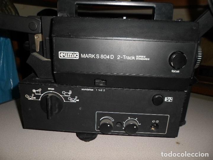 Antigüedades: PROYECTOR DE CINE SONORO EUMIG 8 MARK S804 D - Foto 5 - 182507833