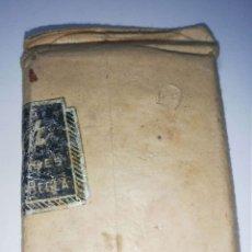 Antigüedades: CUBA. PRE REVOLUCION. SELLO DE BRONCE. NOVEDADES. ESTHER. MED : 6 X 5 CM APROX.. Lote 182566728