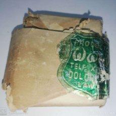 Antigüedades: CUBA. PRE REVOLUCION. SELLO DE BRONCE. PRODUCTOS WORD. MED : 4.5 X 3.5 CM APROX.. Lote 182567968