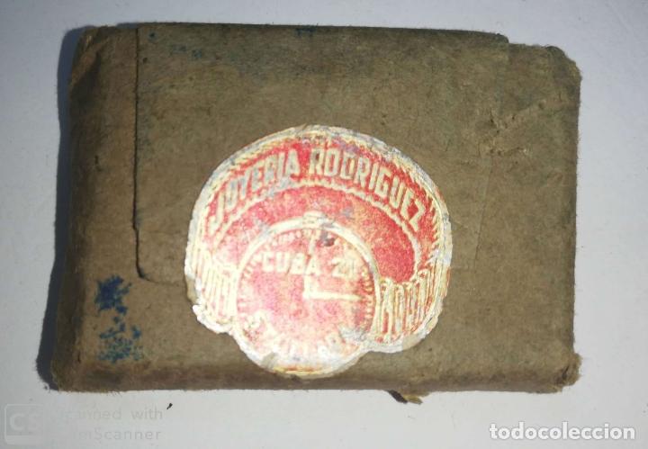 CUBA. PRE REVOLUCION. SELLO DE BRONCE. JOYERIA RODRIGUEZ. MED : 5 X 3.5 CM APROX. (Antigüedades - Técnicas - Herramientas Profesionales - Imprenta)