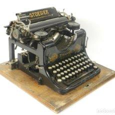 Antigüedades: MAQUINA DE ESCRIBIR STOEWER RECORD AÑO 1910 TYPEWRITER SCRHEIBMASCNINE. Lote 182583788