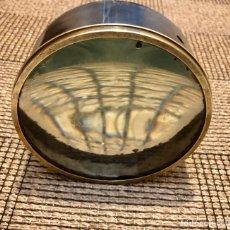 Antigüedades: ANTIGUAS LENTES DE FOCO BARCO , DE REFLECTOR , EN BRONCE .. Lote 182596757