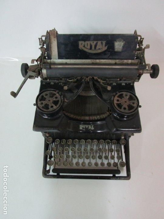 Antigüedades: Antigua Maquina de Escribir - Marca Royal, Standard - Años 20 - Foto 2 - 182597041