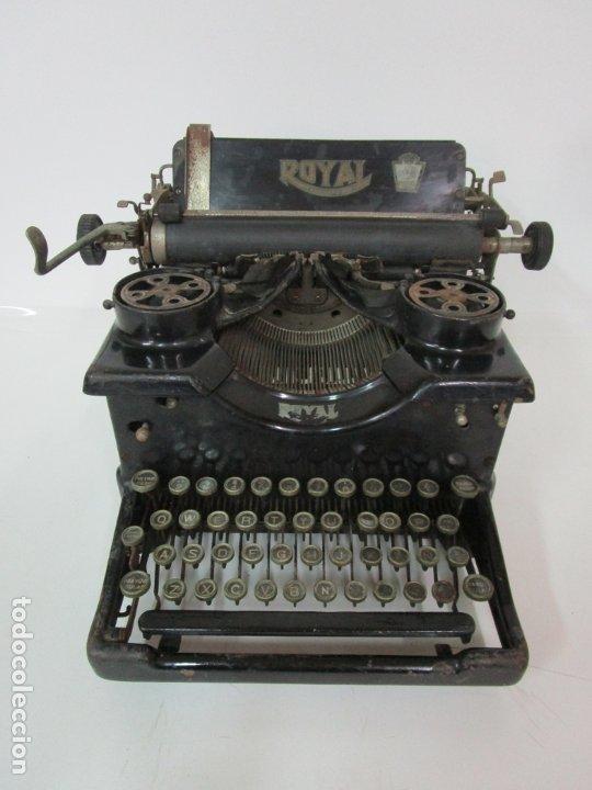 Antigüedades: Antigua Maquina de Escribir - Marca Royal, Standard - Años 20 - Foto 3 - 182597041