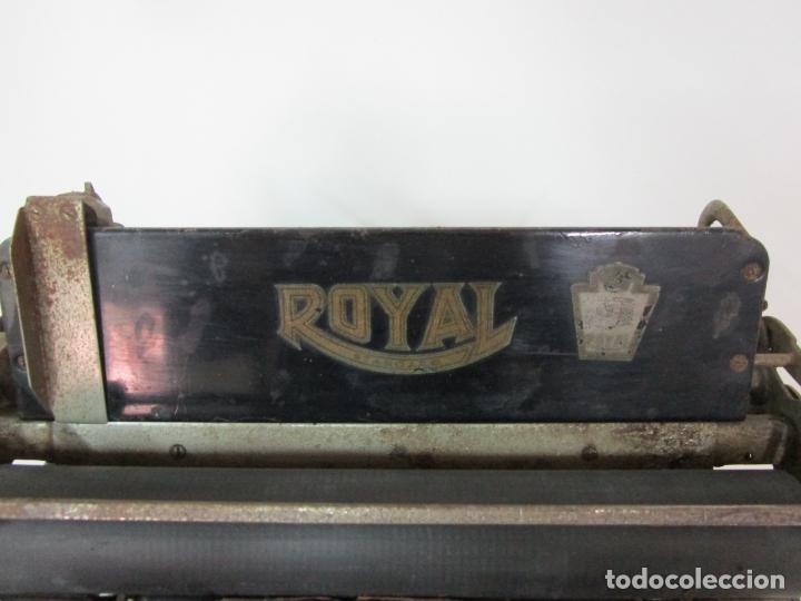 Antigüedades: Antigua Maquina de Escribir - Marca Royal, Standard - Años 20 - Foto 4 - 182597041