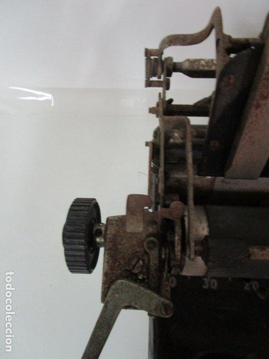 Antigüedades: Antigua Maquina de Escribir - Marca Royal, Standard - Años 20 - Foto 6 - 182597041