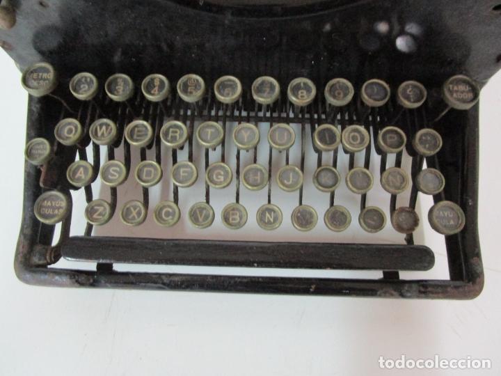 Antigüedades: Antigua Maquina de Escribir - Marca Royal, Standard - Años 20 - Foto 8 - 182597041