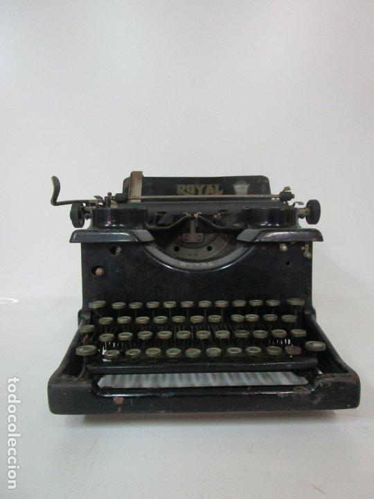 Antigüedades: Antigua Maquina de Escribir - Marca Royal, Standard - Años 20 - Foto 9 - 182597041
