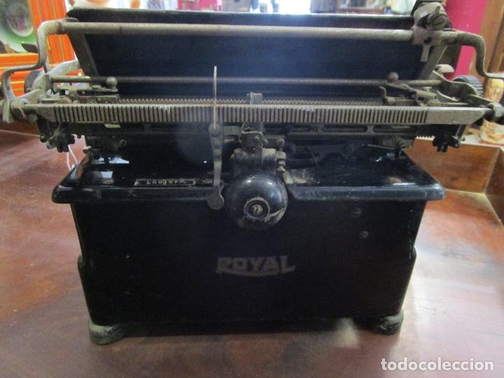 Antigüedades: Antigua Maquina de Escribir - Marca Royal, Standard - Años 20 - Foto 11 - 182597041