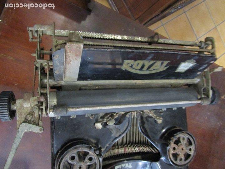 Antigüedades: Antigua Maquina de Escribir - Marca Royal, Standard - Años 20 - Foto 16 - 182597041